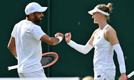 For Better, Not Worse, Life Partners Win Wimbledon Mixed Doubles Opener