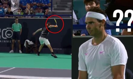 """When """"Exhibition"""" Turns Into WAR! Most BRUTAL Match in Tennis History #2 (Nadal VS. Tsitsipas)"""