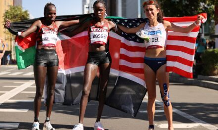 Tokyo Olympics: US runner Molly Seidel wins bronze medal in only her third ever marathon